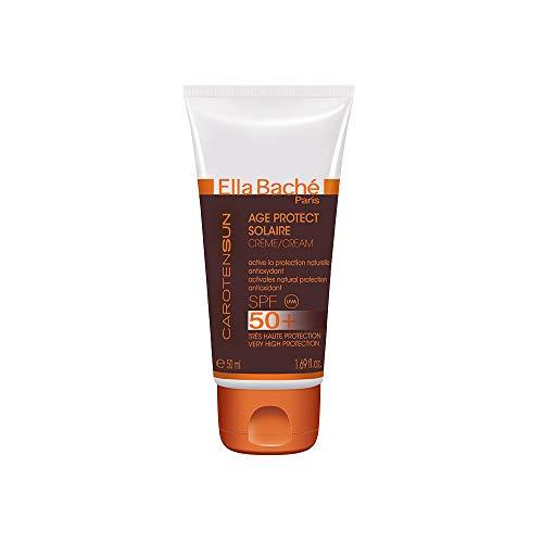 Age Protect Solaire SPF 50+ - Crème fluide visage et corps, très haute protection solaire UVA/UVB SPF 50+ - concentrée en anti-oxydants pour une protection anti-âge - Made in France - 50ml