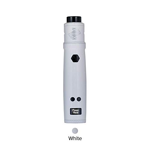 100% Original Uwell Nunchaku RDA Kit, Neu E Zigarette Mod 85W Akku 18650 mit Power/SS/Ni/Bypass mode-Ohne Nikotin Ohne Tabak (Weiß)