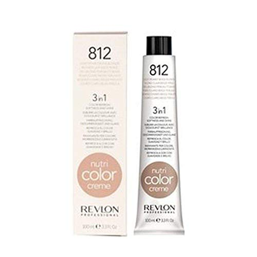 REVLON PROFESSIONAL Nutri Color Cream,812-light pearly beige blonde, 1er Pack (1 x 100 ml)