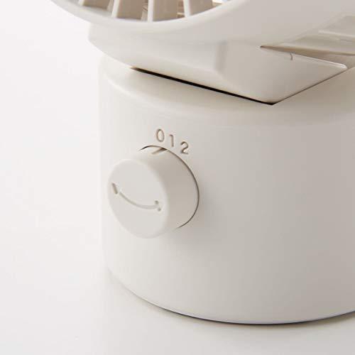 無印良品USBデスクファン(低騒音ファン・首振りタイプ)白約幅10.2×奥行8×高さ15.1cmMJ‐9ZF021CZ0382150513