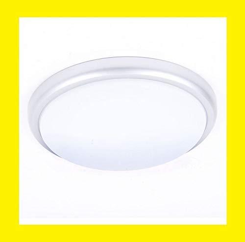 Brilliant G94154/11 Applique/plafonnier-titane blanc-metal/plastique-LED, 20 W