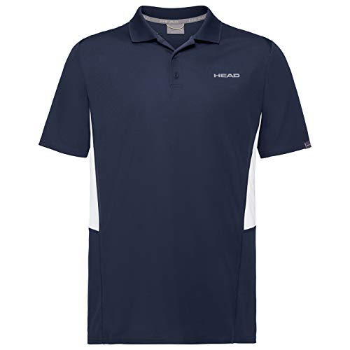 HEAD Club Tech, Polo Uomo, Blu, M