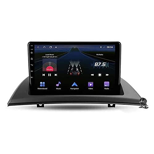 Android 10.0 coche Radio Stéreo Para X3 E83 2003-2010 Multimedia Player FM Reproductor GPS Navegación IPS Pantalla Táctil Soporte 4G Wifi SWC Carplay Bluetooth DSP,8 Core 4G+WiFi: 4+64GB