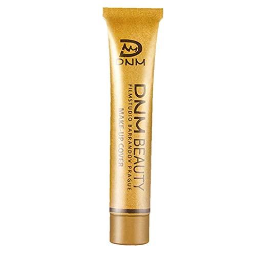 Runfon Maquillage Correcteur Couverture complète Maquillage Fondation Douce Correcteur Crème 14 Couleurs liquides Couverture Correcteur Maquillage Longue durée Base de lumière Rose