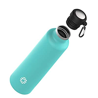 FJbottle Insulated Water Bottle 34 oz with Dura...
