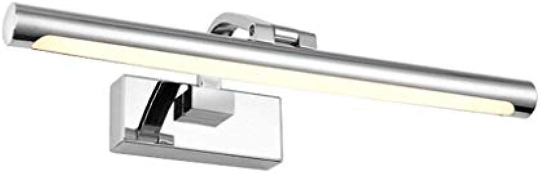 LED-Frontspiegel The Light Waterproof Waterproof Bath Rooms, Waschrume Einfacher Anti-Fog-Spiegel für die Malerei der Wandleuchte, die europisches Metall der Energiespiegel-Kabinett-Glühlampen beleu