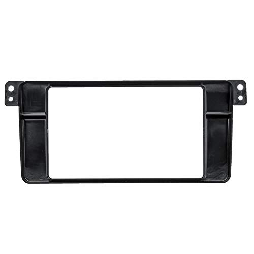 HIGHER MEN Car Accessories Parts 2 Din Car Stereo Radio Audio Fascia Panel Plate Frame CD GPS DVD Dashboard Panel for BMW 3 - Series E46 1998-2005