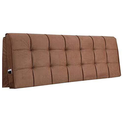 Faux Lino tapizada copetudo cabecera con No Hay Cama Junta Color sólido colchón Doble Tatami Bed Head (Color : K, Size : 185 * 58 * 10cm)