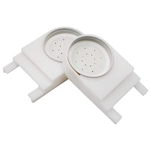 2 Pack Beehive Entrance Feeder, Bee Feeder for Beekeeping Feeding Sugar Syrup or Water with Lids for Beekeeper (2)