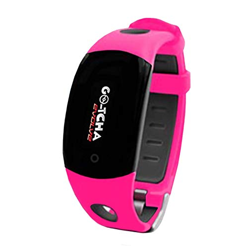 Go-Tcha Evolve LED-Touch Wristband Watch for Pokemon Go with Auto Catch and Auto Spin - Pink