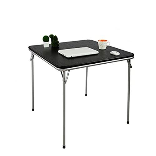 Goodvk Tragbarer Camping-Tisch Faltende Esstisch Esstisch Square Tisch Büro Konferenztisch Einfacher Outdoor Portable Stall Kleine Tabelle Mehrzweck...