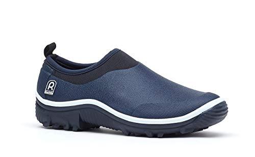 Rouchette Zapatos de jardín para hombre y mujer, de caña corta, botines de goma, color, talla 43 EU