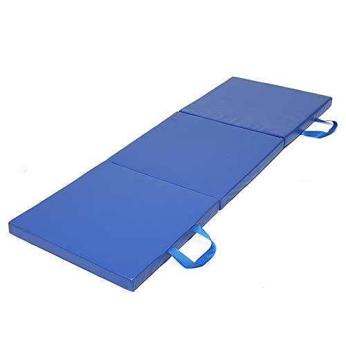ZDAMN Yoga Mat 3 Folds Gymnastics Mat Yoga Exercise Gym Portable Panel Tumbling Climbing...