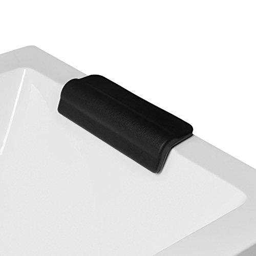 Coussin de tête et de nuque pour baignoire (baignoire rectangulaire) - Montage fixe - Modèle 6174