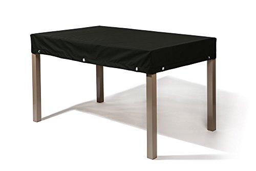Gartentisch/Gartenmöbel Abdeckung | Winterfest & Atmungsaktiv | Maße in cm: 215x70x15