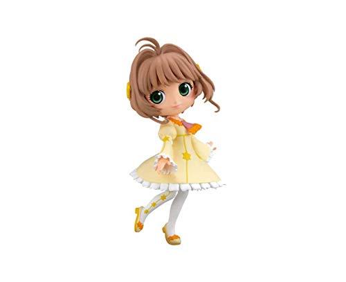 Bandai Spirits. Card Captor Sakura: Clear Card-Hen Kinomoto Sakura Figure Q Posket SUBITO Disponibile!
