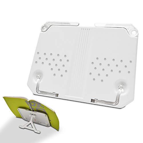 ブックスタンド 筆記台 書見台 超薄型 本立て 180°角度調節 読書台 視力保護 姿勢?正 多機能 読書 料理 ノート 楽譜などに使うことができます 持ち歩くことができ 収納が便利です