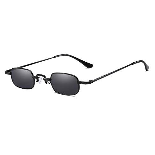qiansu Metall Sonnenbrille Männer Frauen Mode Brille Kleine Retro Vintage Sonnenbrille UV400 Brillen Sport Hip Hop Steampunk Brille C1