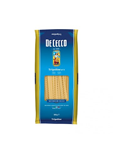 De Cecco 10 x de Tripoline No. 3 pâte italienne 500 g.