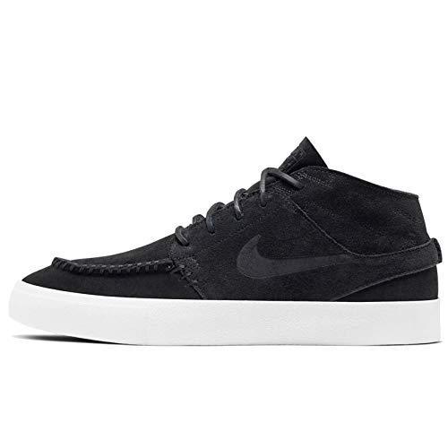 Nike Zoom Janoski Mid Rm Crafted - Black/Black-Pale Ivory, Größe:14