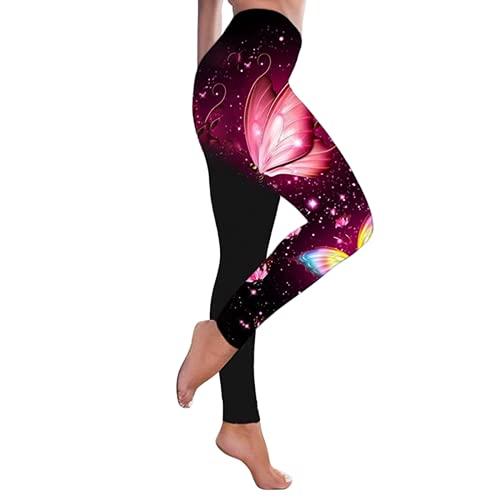 QTJY Pantalones de Yoga para Levantar la Cadera de Cintura Alta a la Moda, Pantalones elásticos para Levantar la Cadera, Celulitis, Pantalones de Fitness G L