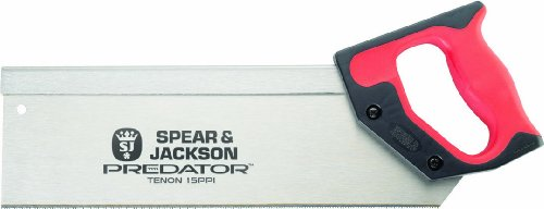 Spear & Jackson B9810 Predator - Serrucho de costilla (25,4cm)