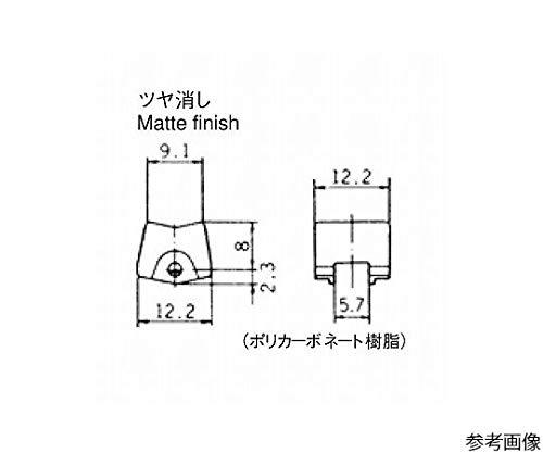 日本電産コパル電子 ロッカースイッチ グレー 140000480597