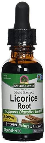 Nature's Answer, Licorice Root (Echtes Süßholz), 2000 mg, 30ml - ohne Alkohol