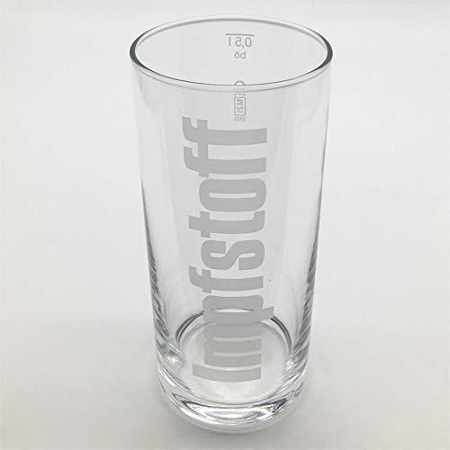 Impfstoff Glas 0,5 Liter | Longdrinkglas | Pfälzer Schorleglas | Schoppenglas | Weinglas