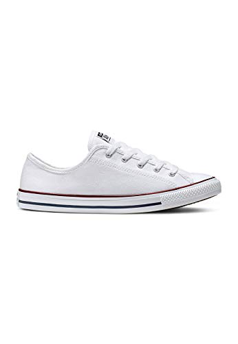 Converse All Star Dainty Ox Damen Sneaker Weiß, Weiß, 37 EU