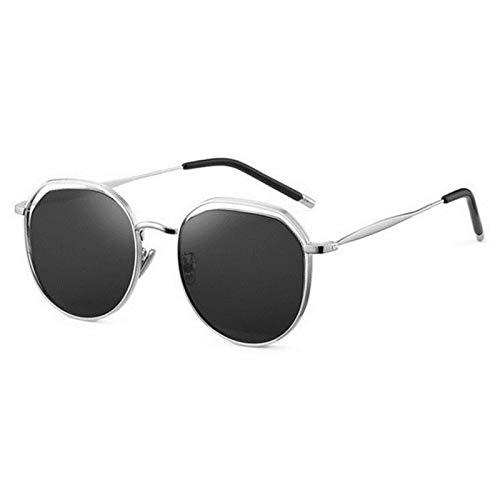 YIFEID Gafas De Sol Marco De Oro Rosa Té Len Prescripción Gafas De Sol Mujeres Polarizadas Poligon Gafas De Sol Moda