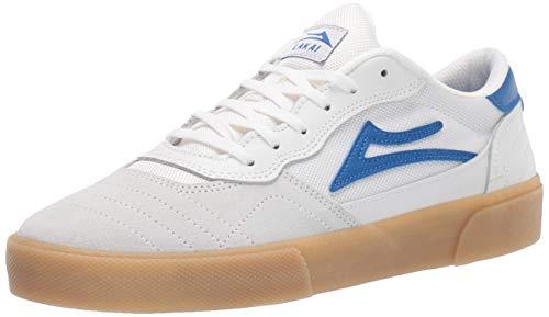 Lakai Limited Footwear Mens Unisex-Erwachsene Cambridge, Weiß/blaues Wildleder, 40 EU