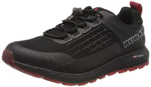 bugatti Herren 342589116900 Sneaker, Schwarz, 44 EU