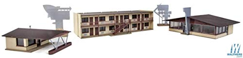 Walthers Cornerstone HO Scale Building Kit Vintage Motor Hotel & Restaurant