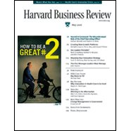 Harvard Business Review, May 2006 cover art