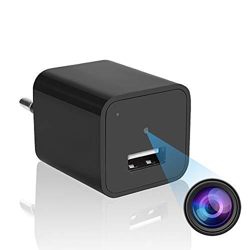 Jiyibidi USB Charger Spy Camera, 1080P Wall Charger Mini Hidden...