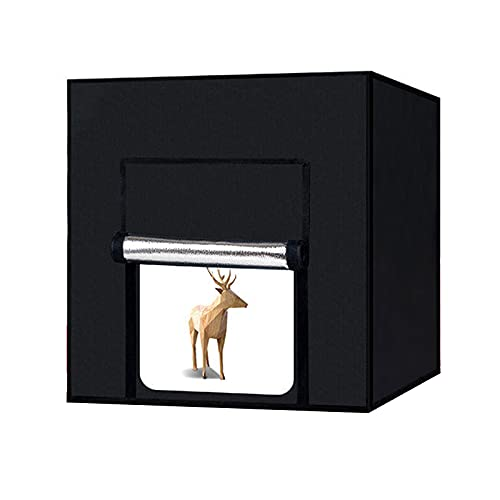Equipo De Caja De Fotografía De Luz De Suplemento Fotográfico De Estudio Pequeño LED Juego De Luces De Fotografía 100CM Caja Suave De Naturaleza Muerta