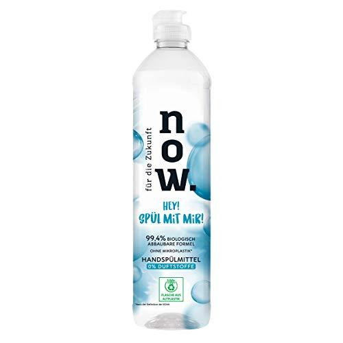 für die Zukunft NOW. Spülmittel 0% Duftstoffe, 550 ml - Spülmittel für empfindliche und sensible Haut, vegan, natürliche Inhaltsstoffe gegen Fett