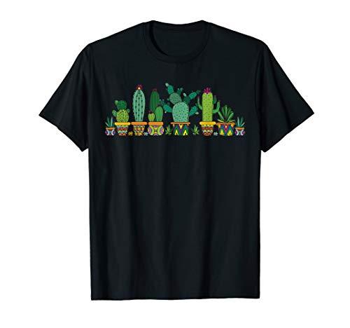 Kaktus T-Shirt Garten Kakteen Kaktusse Sammlung Pflanzen T-Shirt