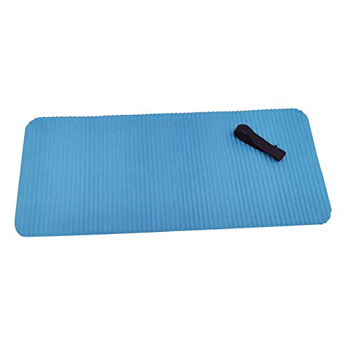 Perfeclan Cojín de Rodilla de Yoga-Almohadilla de Rodilla de Ejercicio-Elimina el Dolor Durante el Yoga o el Ejercicio-Acolchado Adicional y Soporte para - Azul