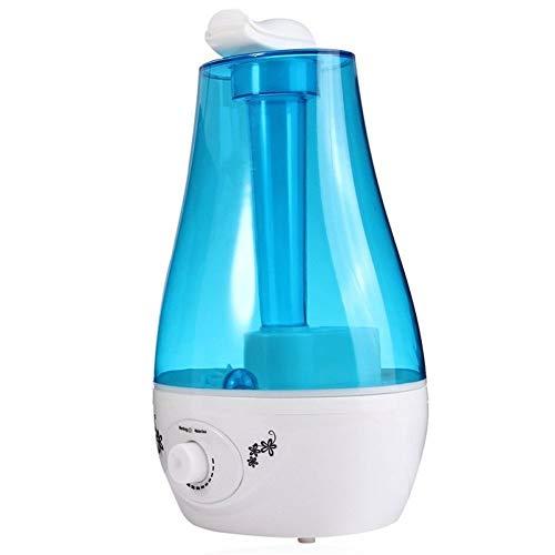 Ultrasone luchtbevochtiger, 3 l, luchtbevochtiger, aromatherapie, etherische olie, diffuser van het Instituut van de luchtreiniger zonder water, automatische uitschakeling, luchtbevochtiger mist