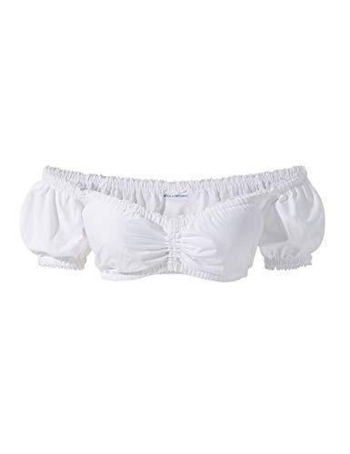 Stockerpoint Damen B-2025 Trachtenbluse, Weiß (Weiß), 36 (Herstellergröße: 42)