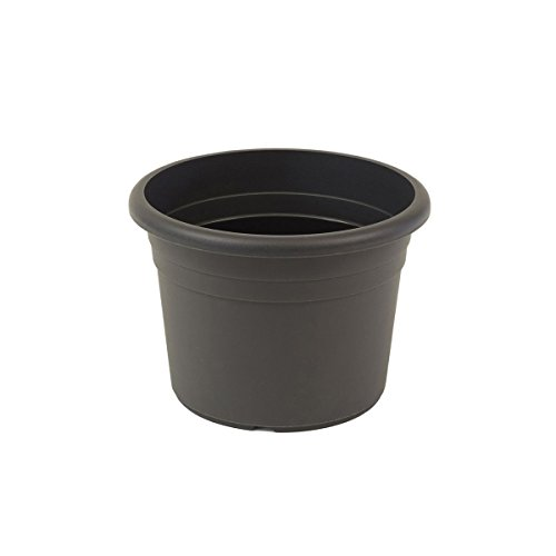 greemotion sembradora Fiona gris antracita - Flor 40cm pote - macetas 18L alrededor - Planter UV...
