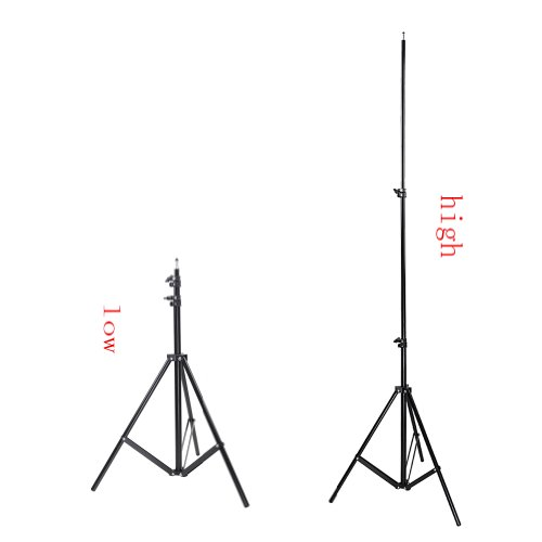 Neewer 3 Pieces 8.6Feet/260cm Aluminum Alloy Photography Tripod Light Stand for Reflectors, Softboxes, Umbrellas