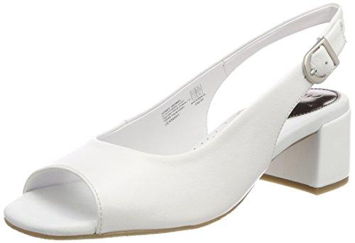 Gerry Weber Shoes Damen Antonia 01 Slingback Pumps, Weiß (Weiss), 39 EU