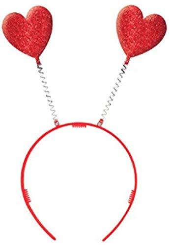 Amscan headboopper, 10 1/4 x 4 1/2 inches, Red