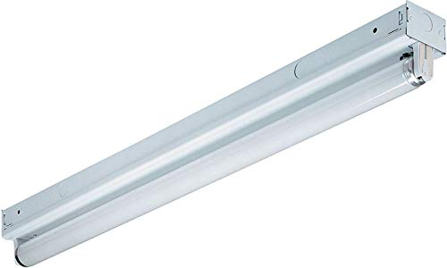 Lithonia Lighting MNS8 1 120 RE M6 Fluorescent Lighting Fixture, 32 watts, 4-Foot, T8 lamp