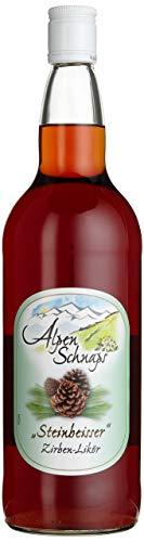 Alpenschnaps | Steinbeisser | 1 x 1l | Zirbe | pures Alpenglück im Glas