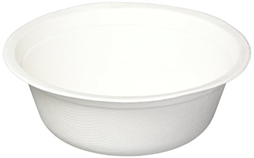 Kinn Kleanbowl Nourish Pet Refill Food & Water Bowls for Dogs & Cats, 16 Ounce (2 Cups), White