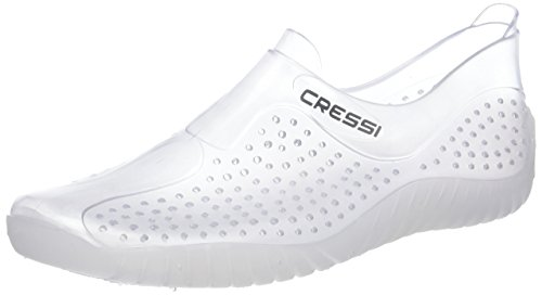 Cressi Unisex Adult's Water Shoes, Transparent (Clear), 4.5 UK (37 EU)